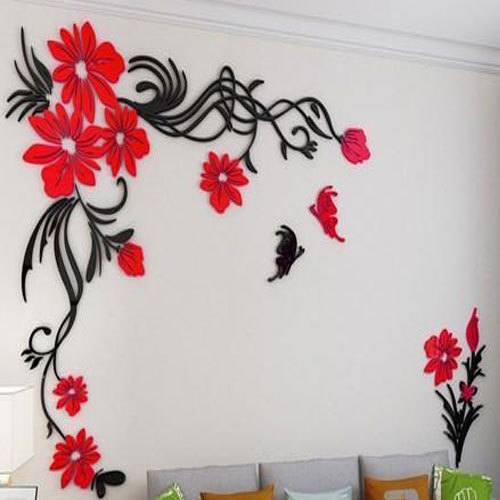 3d wall sticker, packaging type: roll, rs 250 /square feet, inchara