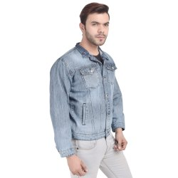 Skupar Casual Wear Men Denim Jacket