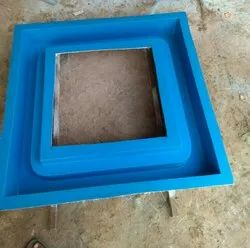 Fiber mold glass