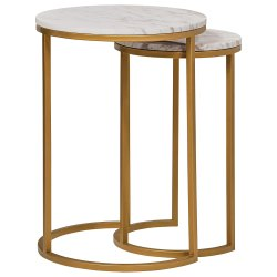 Standard Golden Brass Table, for Restaurant