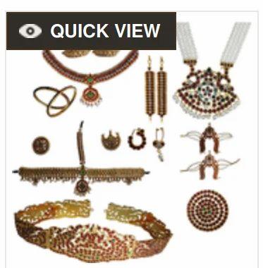 Professional Temple Jewelry & Jimikki Stud Real Temple Jewelry