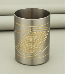 BRASS GLASS, Size: 80mm, Shape: Round