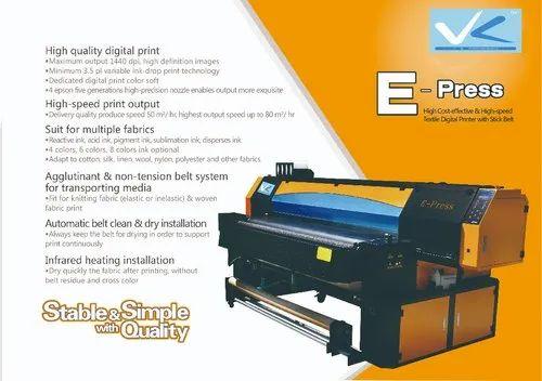 Saree Printing Machine