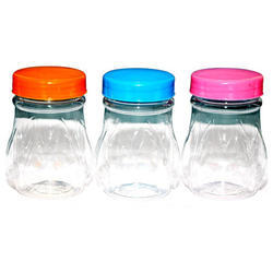 Food Grade Polyethylene terephthalate (PET or PETE) Plastic Kitchen Jar, Capacity: 100-250 Gm