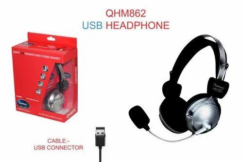 Quantum QHM862 USB Headphones
