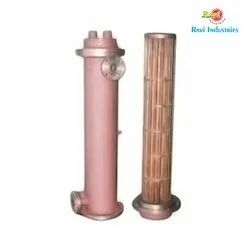 Finned Shell And Tube Heat Exchanger, Oil