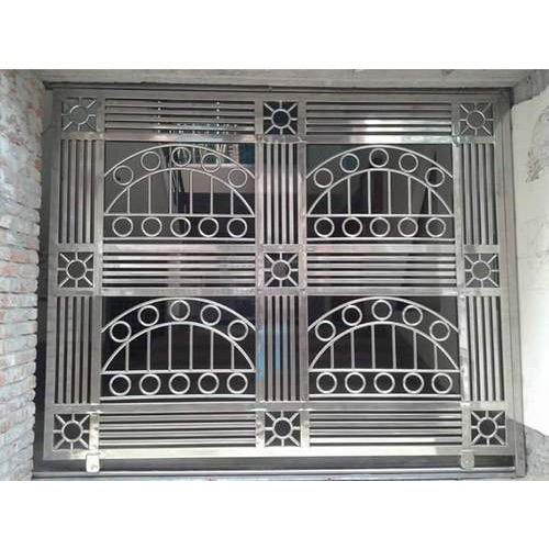 Designer Stainless Steel Grill At Rs 850 /sq.ft