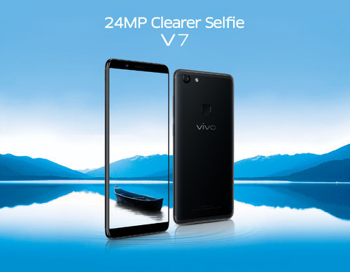 Vivo V7 Mobile, Screen Size: 5.5 Inches