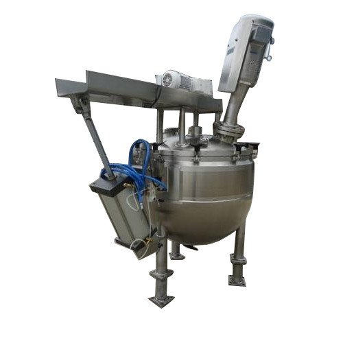 Stainless Steel High Pressure Reactor, Capacity: 500 L To 50000 L