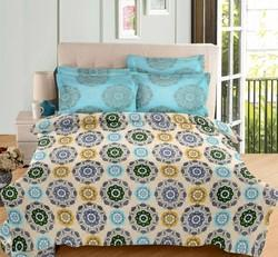 Double Bedsheet with Pillow Cover