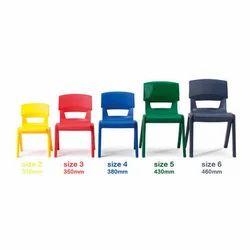 Kids Plastic School Chair