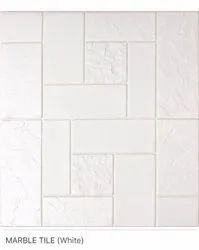 Marble Tile (White) Wall Panel