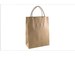 Brown Paper Twisted Handle Bags