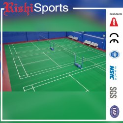 Rishi Sports Indoor Badminton Court PVC Flooring