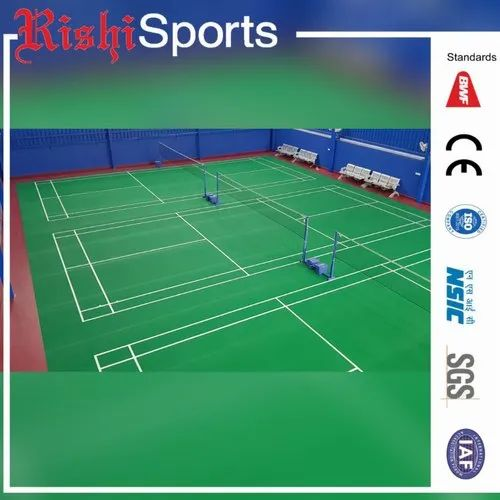 Indoor Badminton Court PVC Flooring