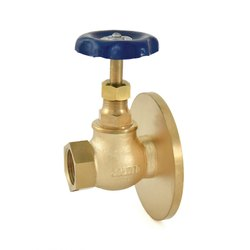 Bronze One Side Flanged Globe Valve with PTFE Seating