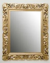 Golden Wooden Dynamic Photo Frame, For Gift, Size: 7 X 4 Inch
