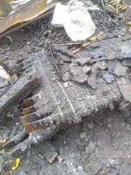 Black Ms pilagma Iron scrap guchha bad papdi