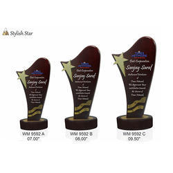 Wooden Stylish Star Awards