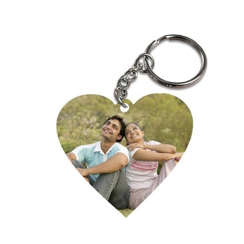 Personalized Valentine Day Gifts Heart Keychain At Rs 99 Piece