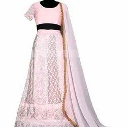 Latest Designer Beautiful Pink Lahenga Choli