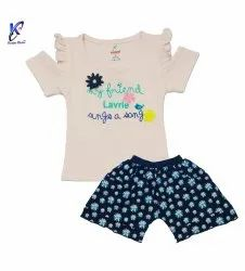 Stylish Top With Shorts For Baby Girl
