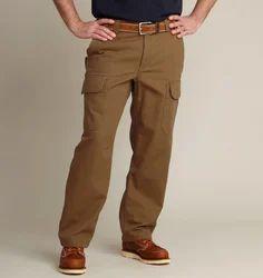 Brown Plain Pant