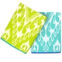Multicolor Cotton Jacquard Beach Towel