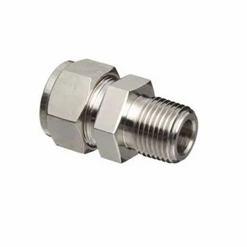 Stainless Steel Double Ferrule Fittings, For Gas Pipe, Size: 6-50 mm