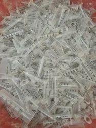 Sringe PP plastic scrap