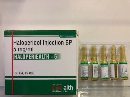 Haloperidol Injection BP 5 mg per ml