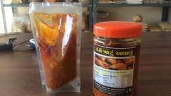 Khatta Mango Pickles, Packaging Size: 500 gram, Packaging Type: Pouches
