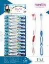 Merlin Soft Taj Toothbrush For Tooth Cleaning