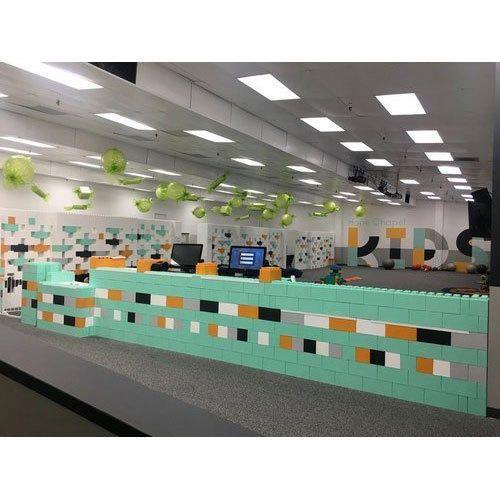 Everblock Plastic Modular Office Wall