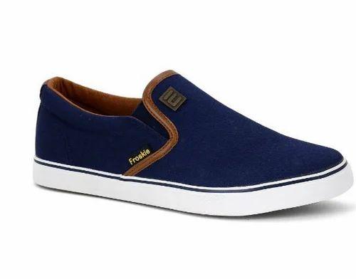 Blue Canvas Shoes, Canvas कैजुअल जूते