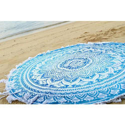 Round Cotton Tapestry
