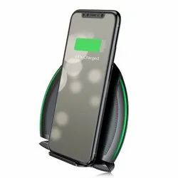 Black Universal Baseus Foldable Multifunction Wireless Charger for Mobile Charging