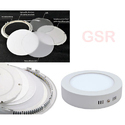 15w Kit LED Panel Downlight Round Square Surface Mounting