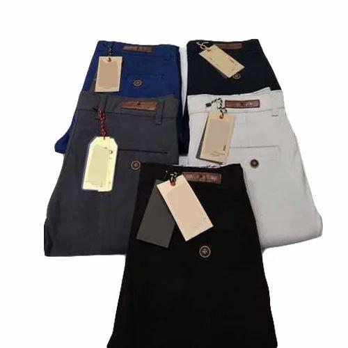 e9cf775ff71b Slim Fit Casual Mens Formal Trouser, Machine Wash, Rs 300 /piece ...