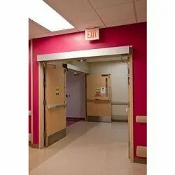 Steel 120 Minutes Automatic Fire Rated Door