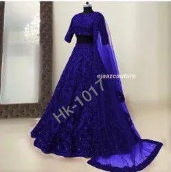 HK 1017 Bridal Designer Lehenga Choli