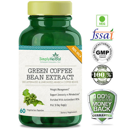Weight Loss Green Coffee Bean Extract Manufacturer From Indore