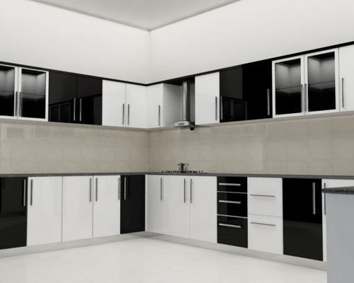 Residential MDF Modular Kitchen, Warranty: 1-5 Years