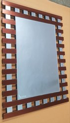 Wall Mounted Cubic Mirror With Backside MDF, Mirror Shape: Rectangle