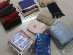 Cotton plain & printed Handloom Khadi Fabric, Packaging Type: Roll, GSM: 100-150 GSM