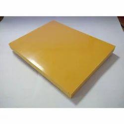 Lemon Yellow Metallic Aluminum Composite Panel