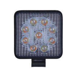 12 W Aluminium 9 LED Square Flashing Auto Light