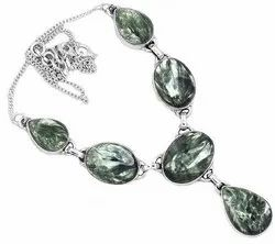 Seraphinite Furnished Necklaces