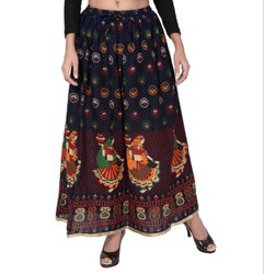 Jodhpuri Printed Long Skirt