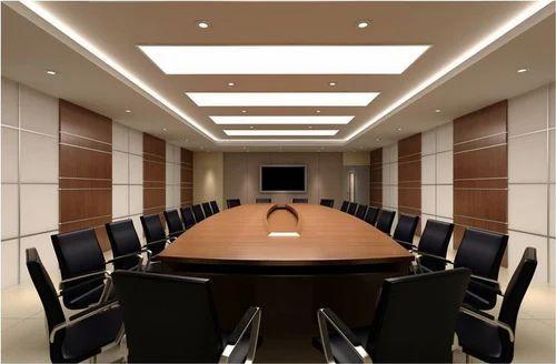 conference room interior in delhi patparganj by creative interior